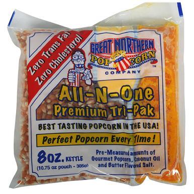 8 oz Porsjonsforpakninger