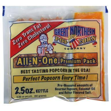 2,5 oz Porsjonsforpakninger