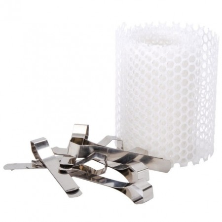 Paragon Replacement Floss Bowl Stabilizer Net and Clips for Paragon Cotton Candy Machines