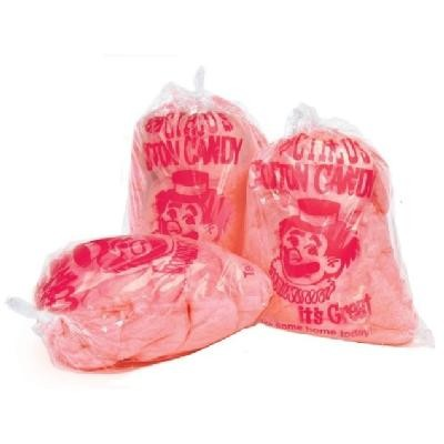 100 stk Paragon Cotton Candy Plastic Bags