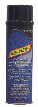 Nu-View Concession and Food Equipment Cleaner